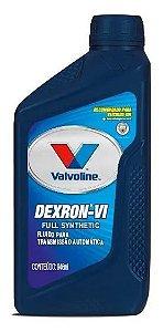 Oleo Fuido Para Transmissão Automática Original Valvoline Atf Dexron Vi Full Synthetic 946 ML