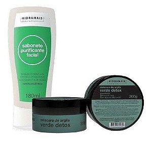 Kit Sabonete Purificante Facial + Masc. De Argila Hidramais