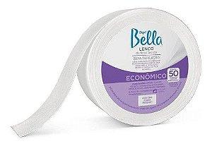 Kit C/ 3 Rolo Lenço Tnt Depilatorio Depil Bella 50m