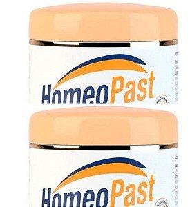 Kit 2 Cremes Hidratantes Homeopast Pes Rachaduras Calcanhar
