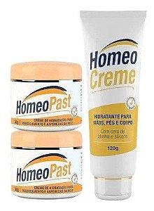 Kit 2 Creme Homeopast E 1 Homeocreme
