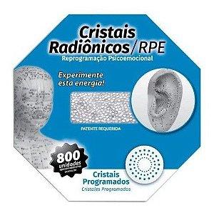 Cristais Radionicos P/ Acupuntura - Acupuntura Cartela C/ 3