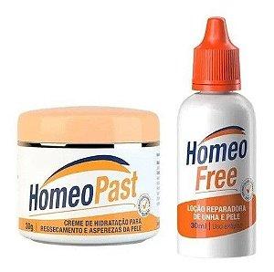 Kit Creme Homeopast E Homeofree