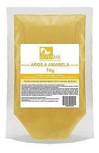 Argila Amarela 1kg - Dermare