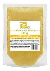 Argila Amarela 500g - Dermare Cosmeticos