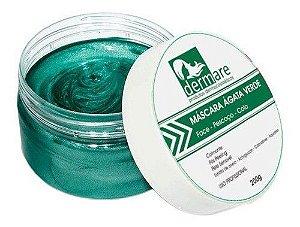Mascara Facial Agata Verde Dermare - 200g