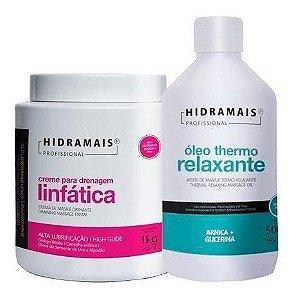 Creme Drenagem Linfatica 1kg + Oleo Thermo Relaxante 500ml