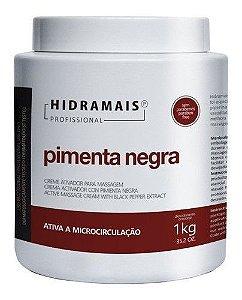 Creme Pimenta Negra 1 Kg Hidramais - 4 Unidades