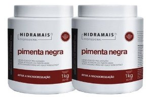 Creme Hidramais Pimenta Negra 1 Kg - 2 Unidades