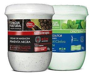 Combo Pimenta Negra + Gel Redutor Crioterapico Dagua Natural