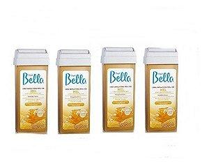 Kit Cera Depilbella Roll On 100g Mel Com 4 Un.
