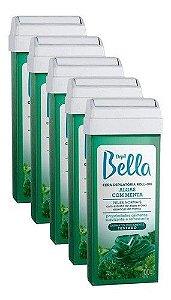 Kit 5 Refil De Cera Para Depilação Roll-on Algas Depilbella