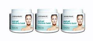 Esfoliante Facial Peel-gel 250g Hidramais - 3 Unidades