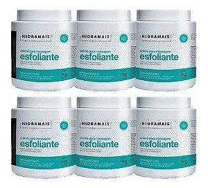 Kit Hidramais- 6 Cremes Esfoliante Forte Murumuru 1kg