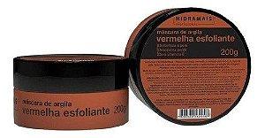 Mascara De Argila Vermelha Esfoliante Hidramais 200g