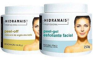 Kit Peel-gel Esfoliante E Peel-off Mascara Hidramais 250g Cd