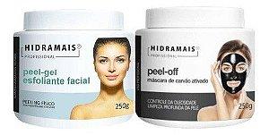 Kit Peel-gel E Peel-off Mascara De Carvão Ativado Hidramais