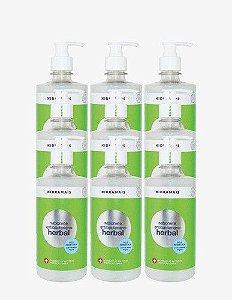 Sabonete Hidramais Antibacteriano Herbal 500 Ml - 9 Unidades