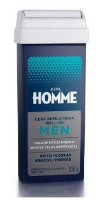 Kit 8 Refil Cera Roll-on Depil Homme Masculino Deo 100g