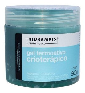 Gel Termoativo Crioterapico 500g - Hidramais