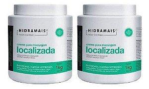 Creme De Massagem Localizada Phytocafeil (2x 1kg) Hidramais