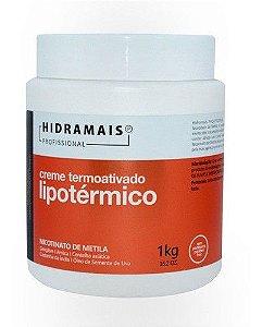 Creme Corporal Termoativado Lipotermico 1kg - Hidramais