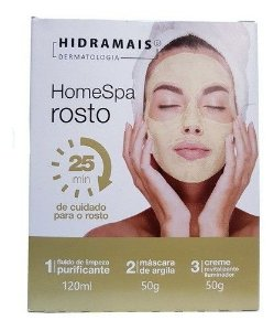 Hidramais Home Spa Rosto Kit De Limpeza Profunda