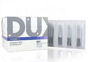 Agulha Sistemica Spring C 0,20x15mm Dux - Caixa 1000