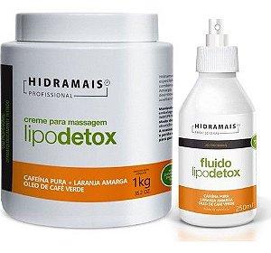 Kit Hidramais Profis.l Creme Lipodetox 1kg+ Fluido Lipodetox