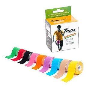 Kit 4 Fitas Bandagem Elastica Adesiva Tmax 5m X 5cm
