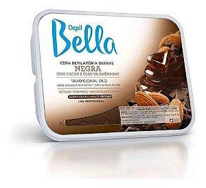 4 Unidades De Depil Bella Cera Depilatoria Negra 01kg