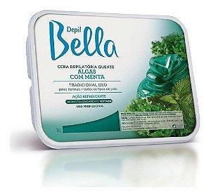 Cera Quente Em Barra Depil Bella Algas Com Menta Deo 1kg