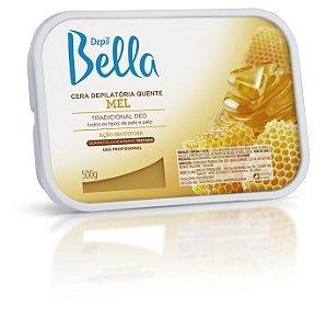 Depil Bella Cera Quente Depilição Mel 500g