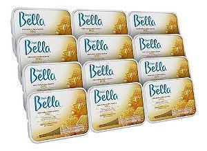 Cera Depil Bella Barra 1 Kg Mel C/12