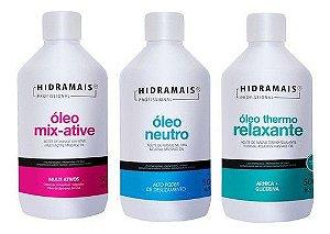 3 - Oleos De Massagem Relaxante Hidramais