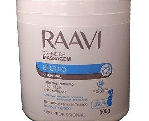 Creme De Massagem Raavi Neutro 500g