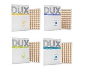 Placa Ponto Reflexo C/ Micropore P/ Auriculopuntura Dux 4 Un