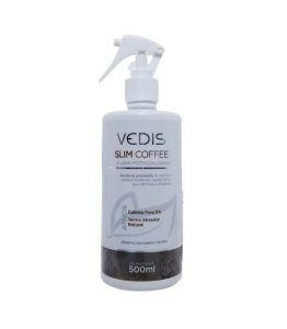 Fluido Massagem Lipolitico Profissional Slim Coffee Vedis