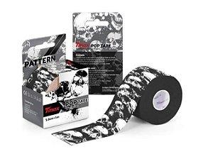 Fita Bandagem Kinesio Tape Tmax - Original - Caveira
