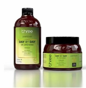 Duo Day By Day Cafe Verde (shampoo 500ml + Mascara 500g)