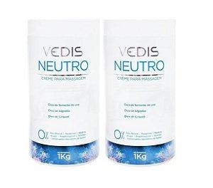 Creme De Massagem Neutro Anticelulite 2kg - Vedis