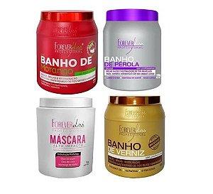 Banho Morango, Banho Perola, Alto Impacto E Banho Verniz