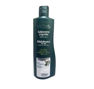 Sabonete Liquido Melaleuca Tea Tree Oil 350ml - Vedis