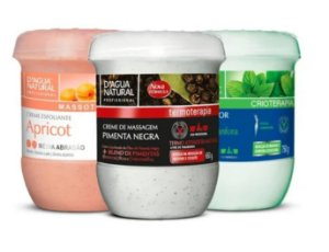 Kit Creme Pimenta Negra + Gel Redutor + Apricot Media