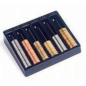 Porta moedas acrimet 990 (novas e antigas) cor preto