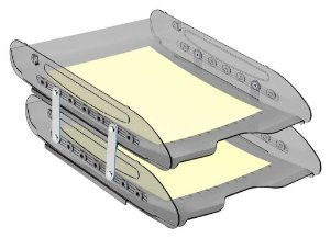 Caixa para correspondencia Super X 284 dupla articulada