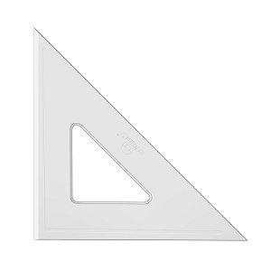 Esquadro Acrimet 540 de 45 graus com 21 cm de comprimento SEM ESCALA