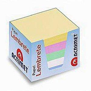 Refil Acrimet 952 porta lembrete  colorido  pacote com 750 folhas