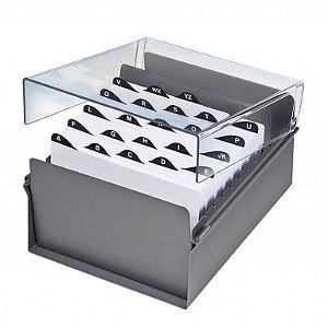 Fichario Acrimet 925 de mesa para ficha 7x10 com indice cristal