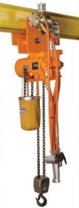 Talha Pneumática MODELO TBR-100 MCPE com Trolley Pneumático TB-100 - 1.000 kg